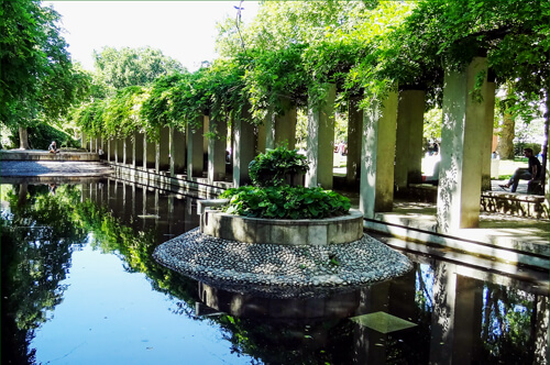 jardin yitzhak rabin goparis disneyland paris