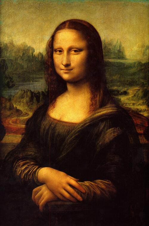 Η Μόνα Λίζα στο Μουσείο του Λούβρου