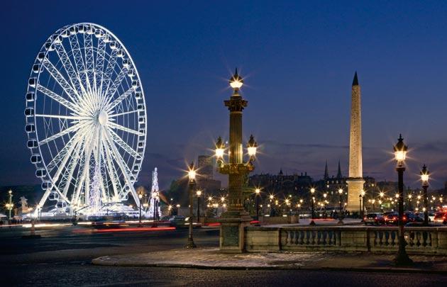 Πλατεία Κονκόρντ - Παρίσι - μεγάλη ρόδα του Παρισιού