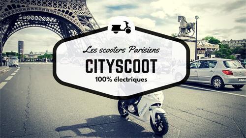 Velib', Autolib' και τώρα CityScoot!