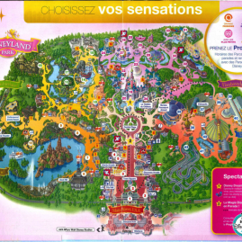 Eurodisney – Περιήγηση στην Disneyland – Χάρτης & Πληροφορίες