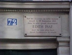 Ο μύθος της Edith Piaf