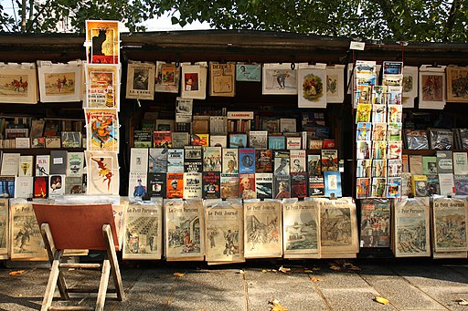 Bouquinistes de Paris 📚